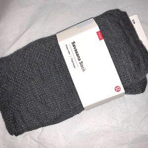 New Lululemon Savasana  Socks S/M
